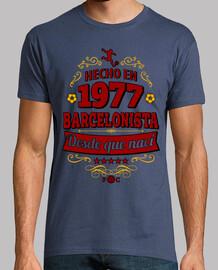 Hecho en 1977 Barcelonista desde que nací