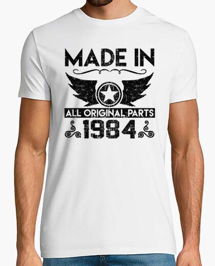 Camiseta hecho en 1984 todas las piezas originales