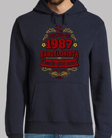 Hecho en 1987 Barcelonista desde que na