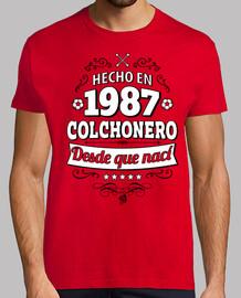Hecho en 1987 Colchonero desde que nací