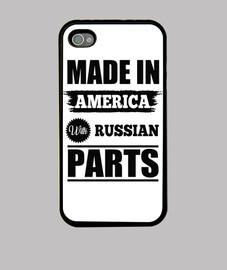 hecho en américa con las piezas rusas