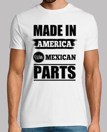 hecho en americano con las piezas mexicanas