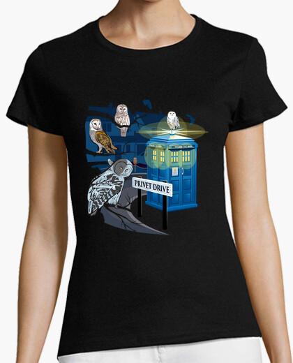 Tee-shirt Hedwig dit qui!