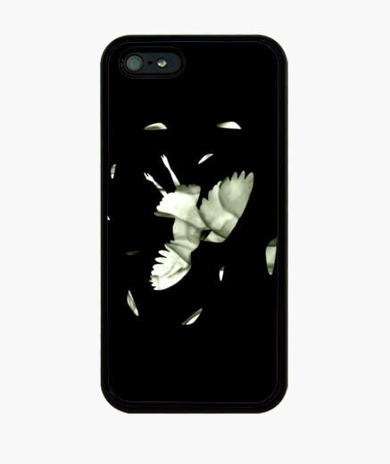 Coque iPhone hedwig mort - iphone 4/5 fondée