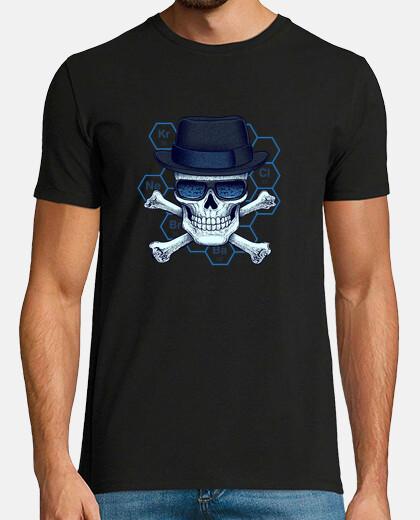heisenberg -camiseta testa uomo