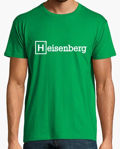 Camiseta heisenberg (blanco)