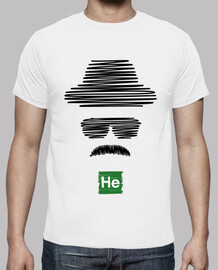 Heisenberg Breaking Bad (noir)