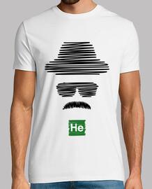 Heisenberg Breaking Bad (noir)