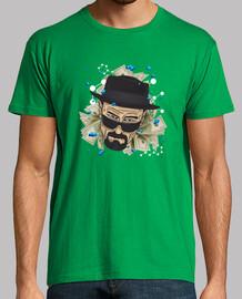 Heisenberg camiseta hombre