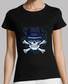 heisenberg donna testa -camiseta