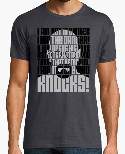 T-shirt heisenberg è il pericolo