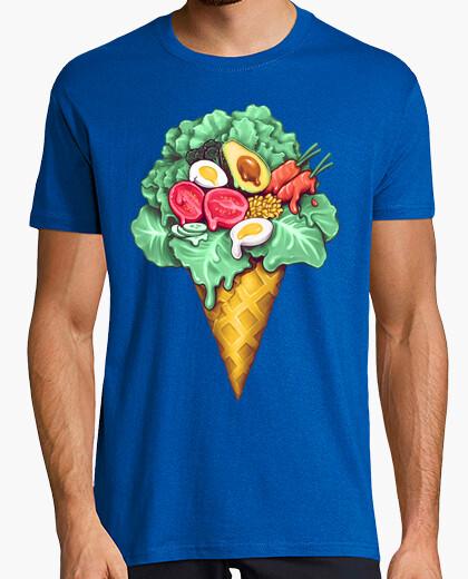 Camiseta helado ensalada mixta