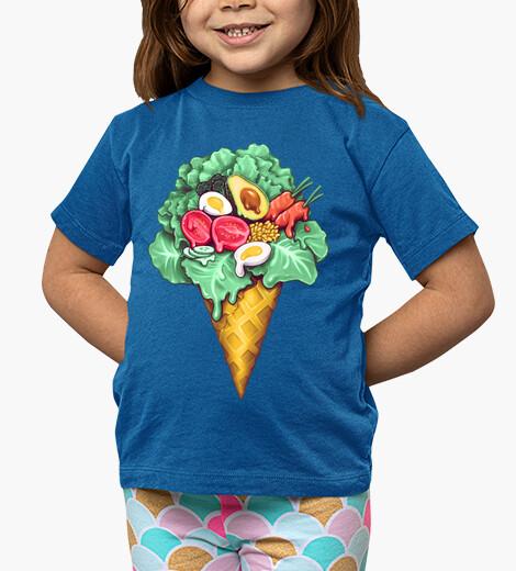 Ropa infantil helado ensalada mixta