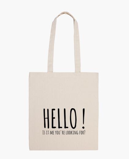 Bolsa HELLO - Lionel Richie