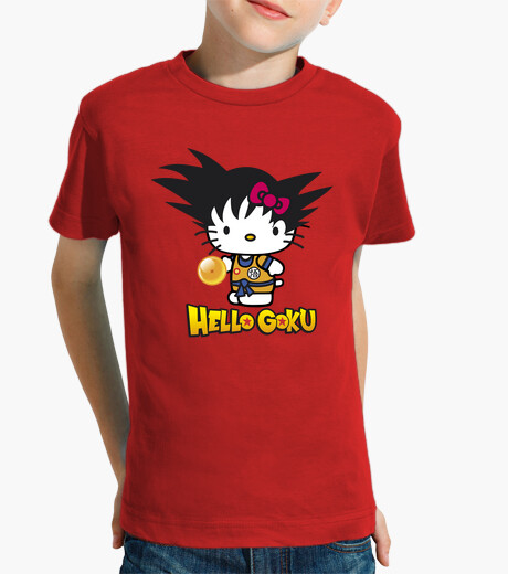 Hello goku kids clothes