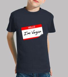 Hello I'm Vegan