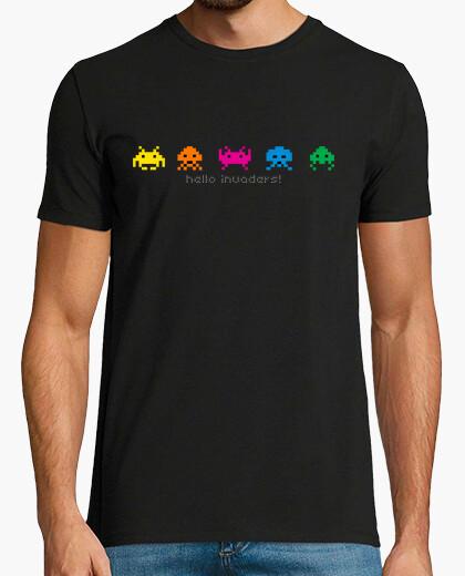 Camiseta Hello invaders! Geek