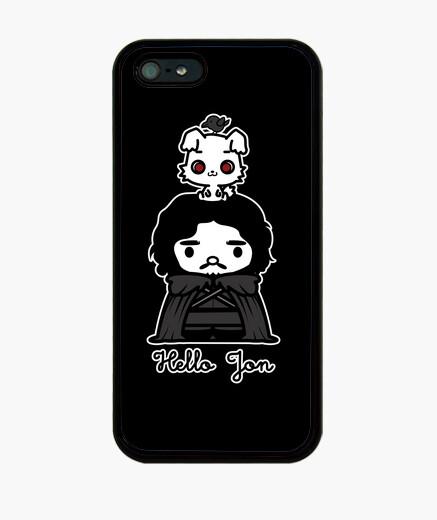 Funda iPhone Hello Jon