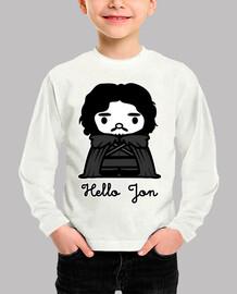 Hello Jon niño