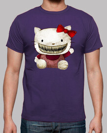 Hello Kitty Terror Horror Humor cine TV camisetas friki
