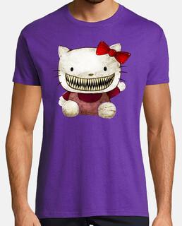 Hello Kitty Terror Horror Humor cine TV camisetas friki