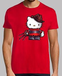 Hello Kitty Terror Horror Zombie humor  camisetas friki