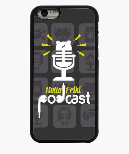 Coque Iphone 6 / 6S hello podcast geek
