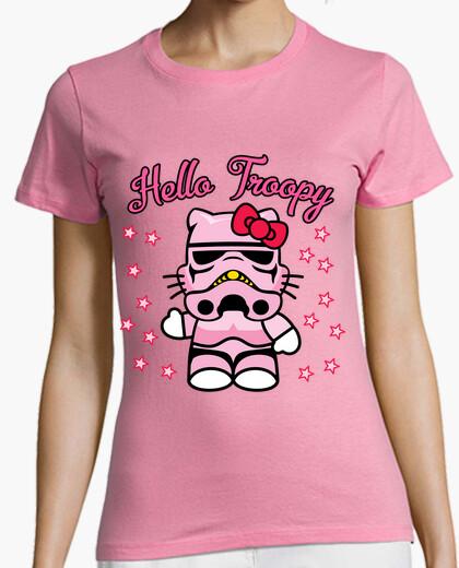 Camiseta Hello Troopy