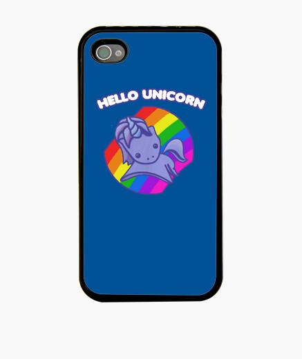 Funda iPhone Hello Unicorn