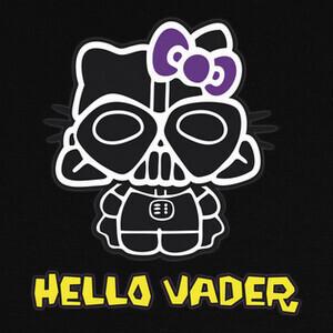 Camisetas Hello Vader