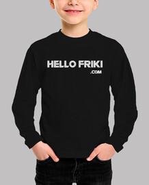HelloFriki.com Blanco - Niño/a