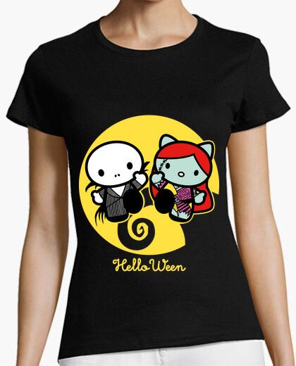 Tee-shirt helloween  femme
