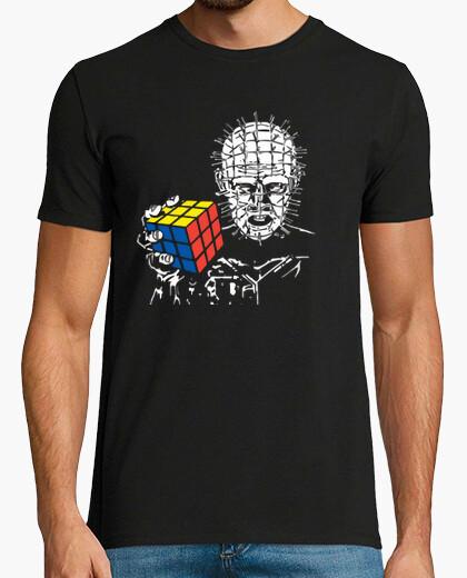 Camiseta Hellraiser cubo rubik  friki