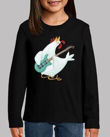 hen rock'n'roll - shirt child