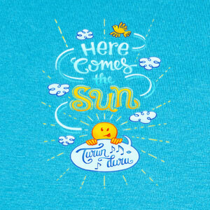 Here comes the sun T-shirts