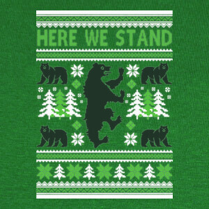 Camisetas Here we Stand Ugly Sweater