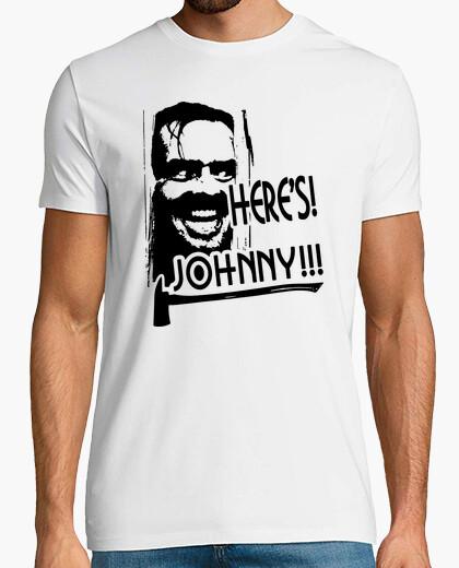 Camiseta Here's Johnny!!! (El Resplandor)