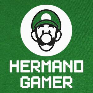 Tee-shirts Hermano Gamer LUIGI