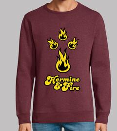 hermine y fuego