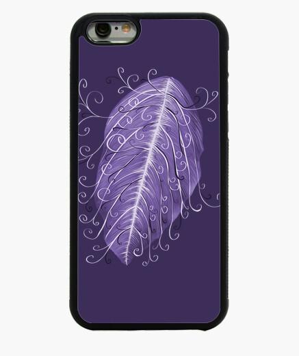 Funda iPhone 6 / 6S hermosa hoja violeta swirly