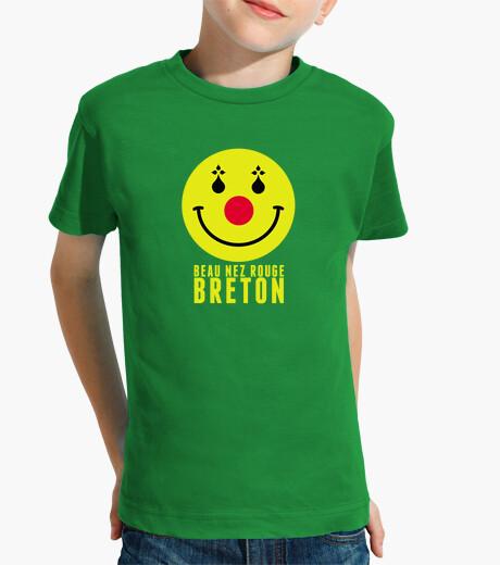 Ropa infantil hermosa nariz roja breton - niño
