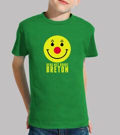 hermosa nariz roja breton - niño