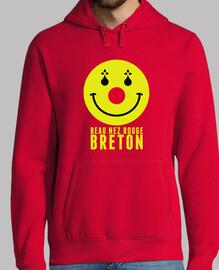 hermosa nariz roja breton - sudadera ligera hombre