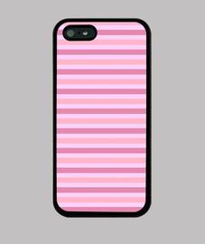 Hermosas lineas Horizontales color rosa