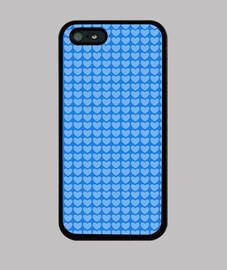 Hermosos Corazones Azules