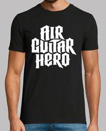 héroe de la guitarra del aire (blanco)