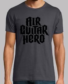 héroe de la guitarra del aire (negro)