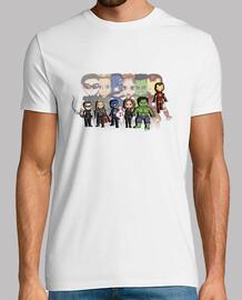 Heroes - Camiseta hombre