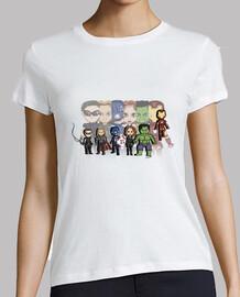 Heroes - Camiseta mujer