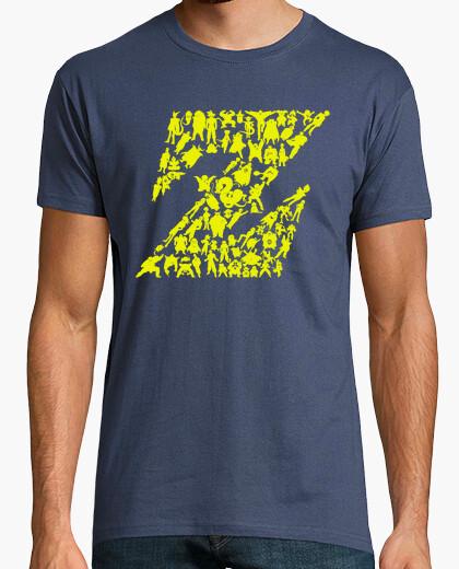 Camiseta Heroes y Villanos